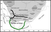 Map of the Garden of Eden