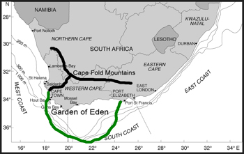 Map of the Garden of Eden