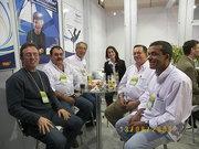 Eu, Adalberto Pacheco ( Mondiale ) Tadeu, Juliana, Kazú e Alfrego Gamo na Febratex 2008