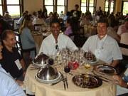 Almoço no Parque Ecológico da Malwee, novembro de 2006 ,na oportunidade da posse da diretoria da abtt e visita a fca. Malwee e Marisol