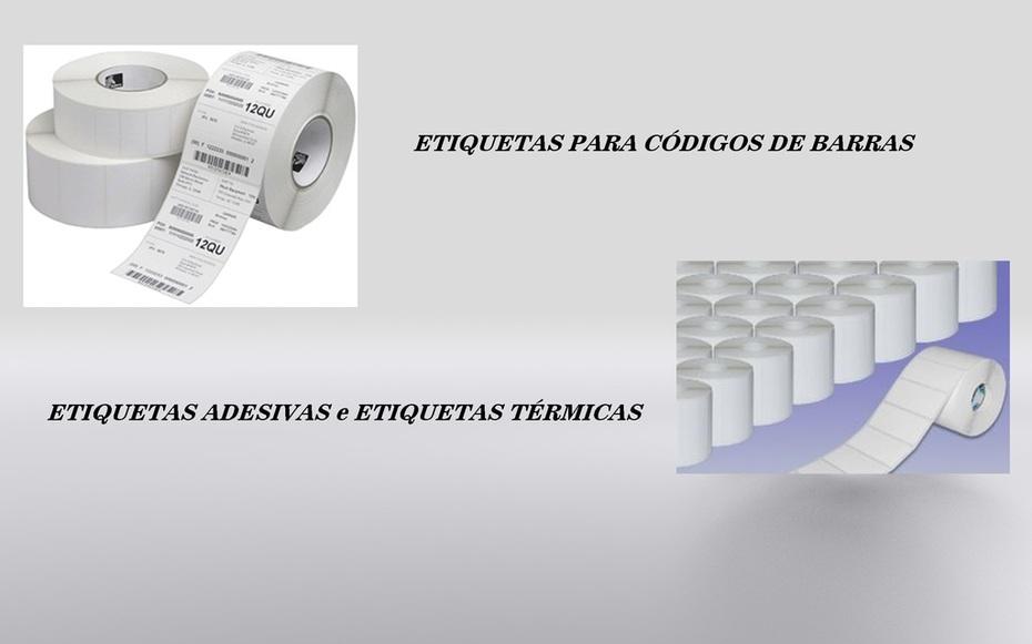 Etiquetas Adesivas - Etiquetas Térmicas