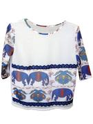 Bata - Elefantes e renda