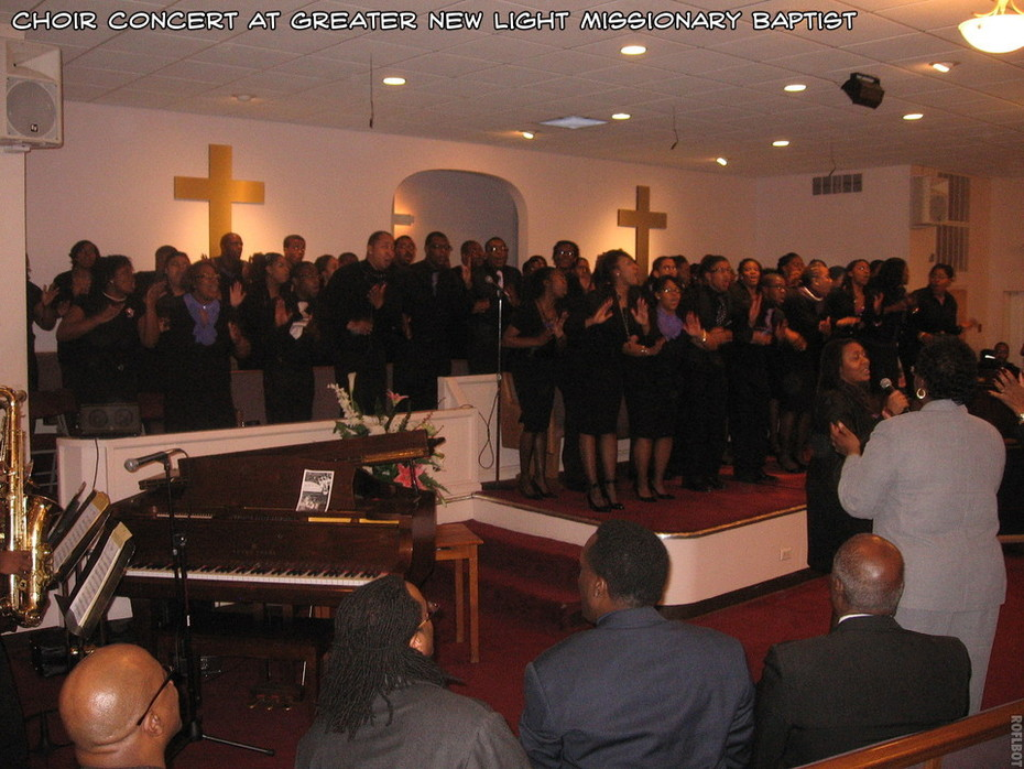 Greater New Light Missionary Baptist