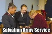 Worship at Salvation Army Church