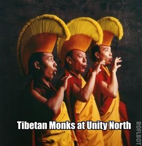 Unity north hosts Tibetan monks