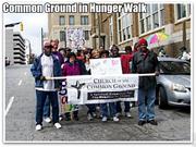 Common ground hunger walk