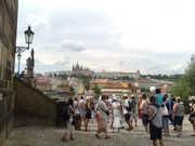 From the St Charles bridge.