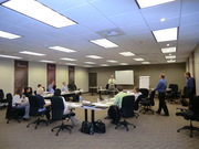 Territory Manager training in action