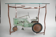 Tractor Display Consol Table