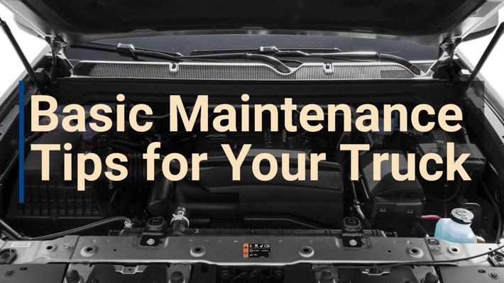 Basic Maintenance Tips for Your Truck