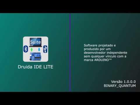 Apresentando o Druida IDE Lite - Interface de Programação para o Arduino