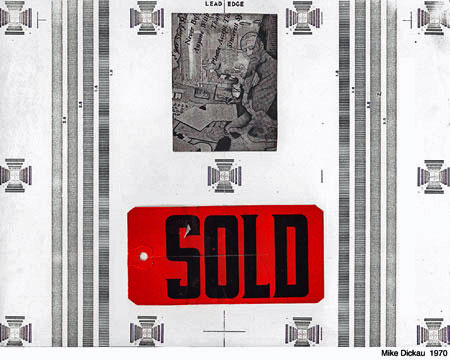 1970 SOLD (MY FIRST XEROX COLLAGE)