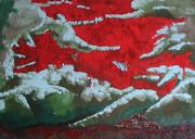Genesi - Angeli o Demoni (2006) 100x140, coll. Arte Ingenua