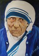 Madre Teresa di Calcutta 50x70cm