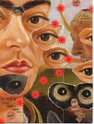 The eyes of  Frida Kahlo