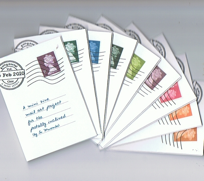 Going Postal - set of 10