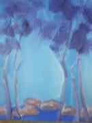 Blue Trees 40X60