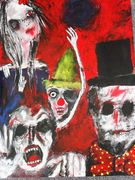 Allegory of a story  Acryl auf Karton 70 x 50 cm Despina Papadopoulou
