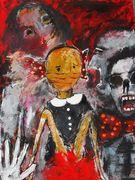 No More Silence  Acryl auf Karton 70 x 50 cm