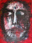 Dialogue with the memories Acryl auf Tuch 150 x 100 cm Jahr 2010 Despina Papadopoulou
