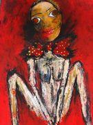 The Doll  Acryl auf Karton 70 x 50 cm Jahr 2010