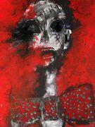 Very Hot  Acryl auf Karton  70 x 50 cm Despina Papadopoulou