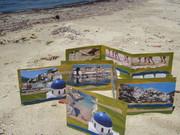 Greek Islands and Running-in-the-Sand sandpo art