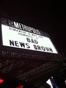 BAD NEWS BROWN TRIBUTE