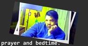 Selfie before bed