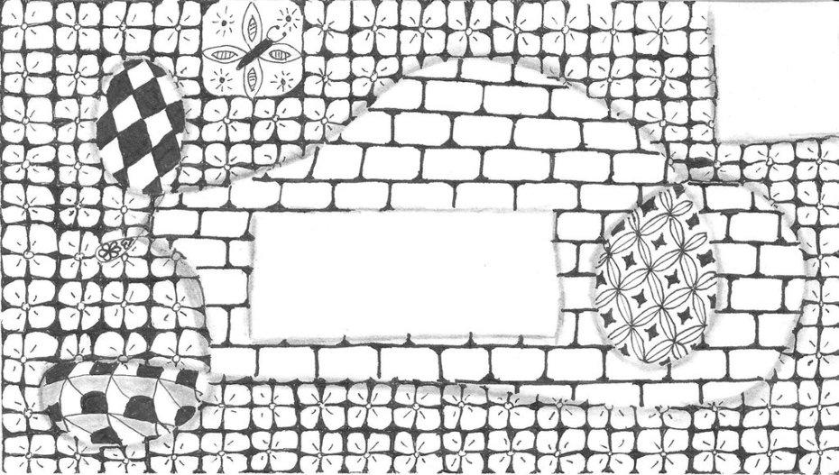 zentangle envelope 1
