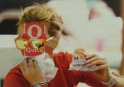 """"""" Au fast-food """" 2011, M."""