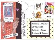 Trinidad Mail Art 2011