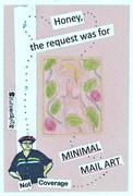 to MINIMAL MAIL ART 10-211
