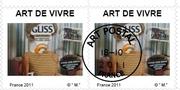 """Timbres """" art de vivre """""""