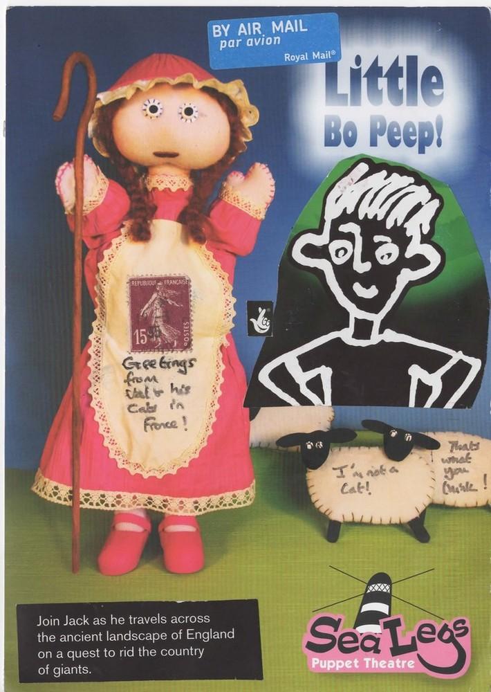Little Bo Peep by Val  A-side