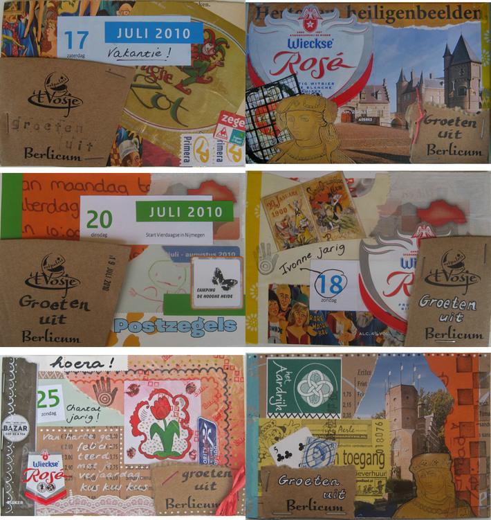 Six cards, Berlicum 2010