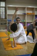 Yoga Art of Adjustment in Rishikesh India