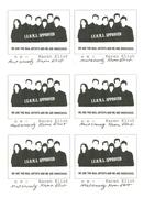 Karen Eliot Innocuous stamps