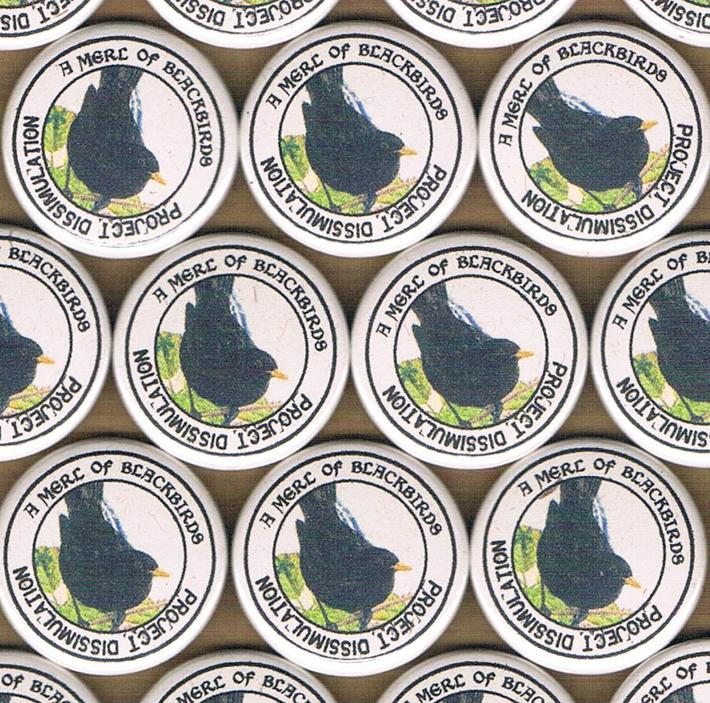 Project Dissimulation - blackbird badge