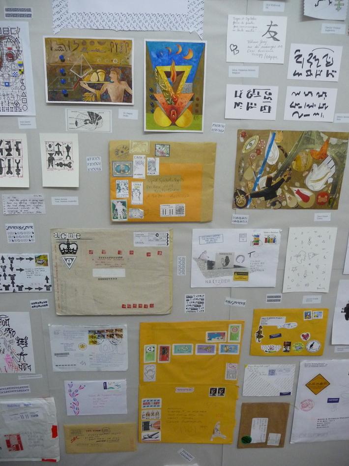 mail art show s.australia