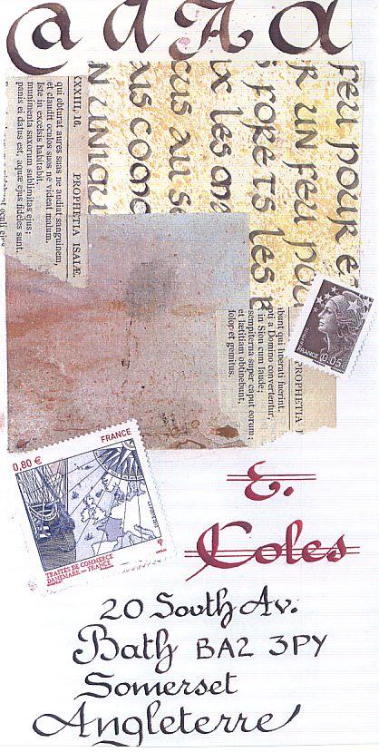 envoi E Coles