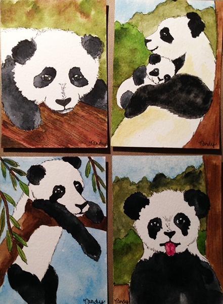 Panda Bear ATCs