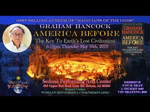 Gary A David on Graham Hancock's new book America Before: The Key To Earth's Lost Civilization