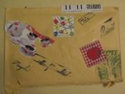 Back of Lorella's Envelope