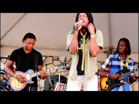 JAH RAIN & THE IYAH VYBZ KREATION @ GUNGO WALK FESTIVAL 2014