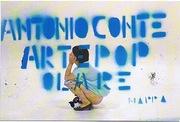 Antonio Conte Arte Pop Ola Re su Cattelan