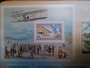 Big stamp . Grenada