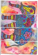 ATCs portions of an elephant0004