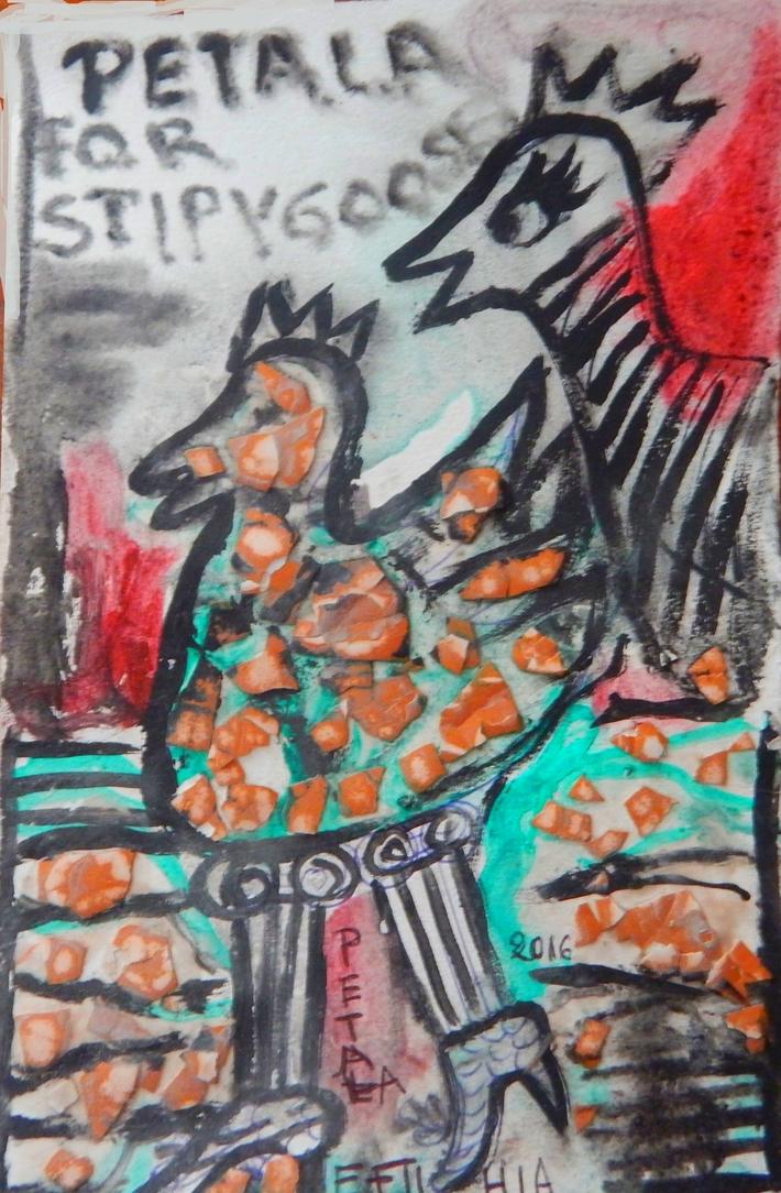 stripygoose mail art