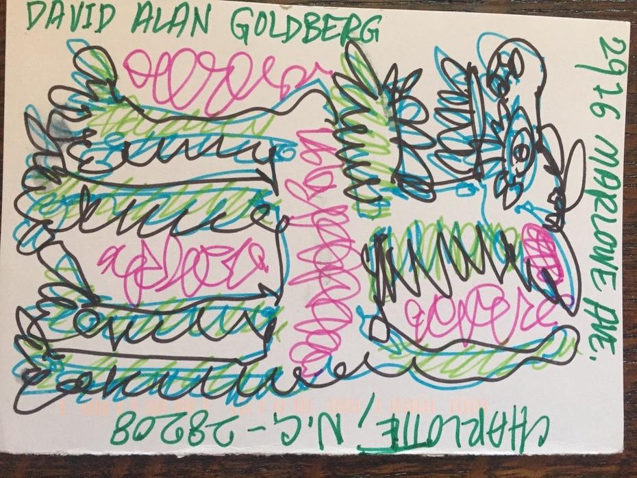 Incoming David Alan Goldberg